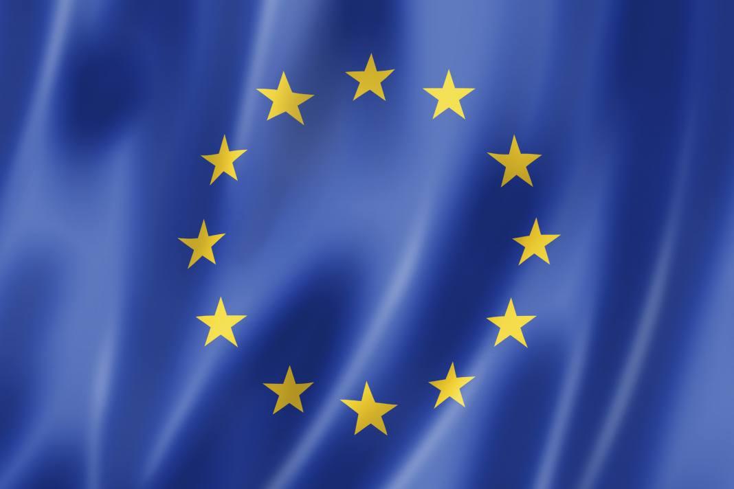 EU-Flag-Waving